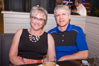 Barbara and Brian Glanz.