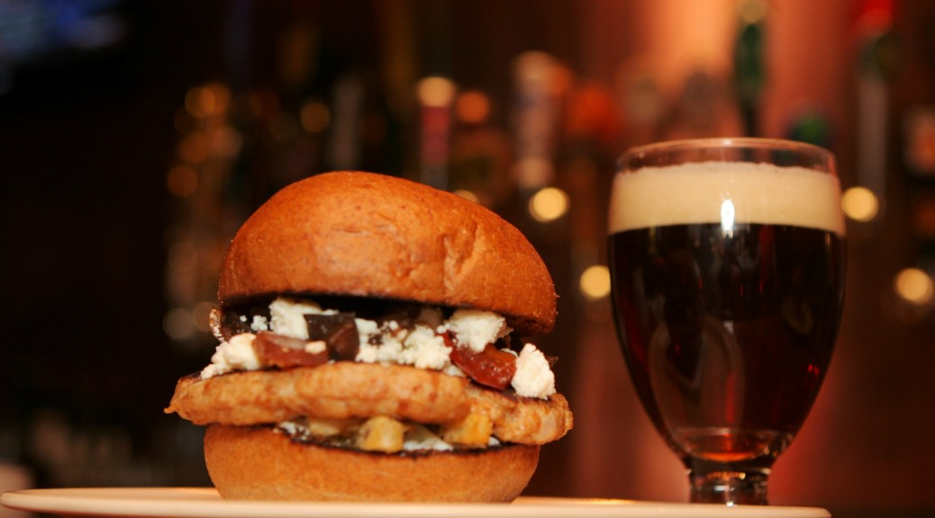 stout burger beer