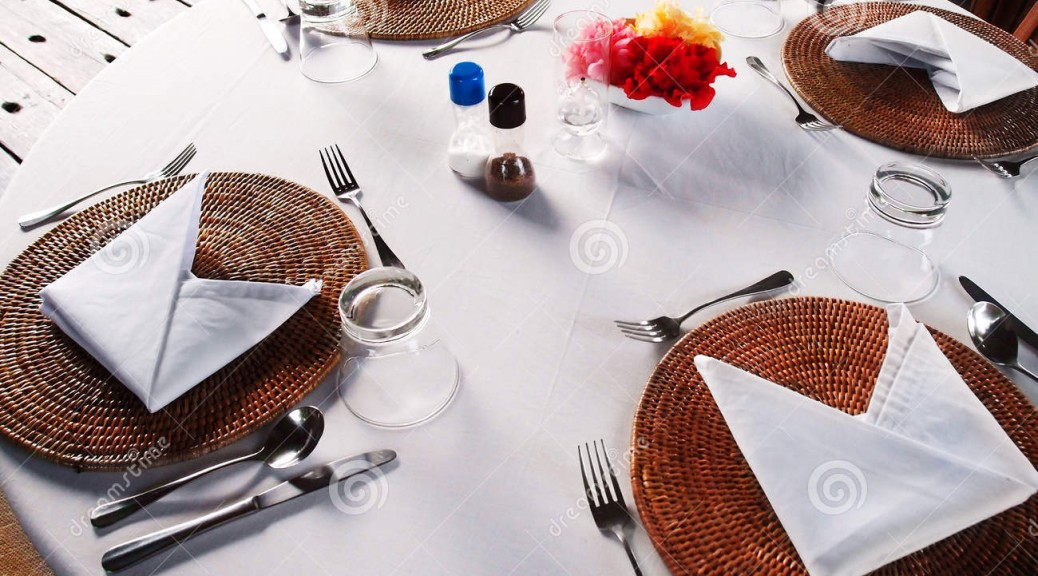 http://www.dreamstime.com/royalty-free-stock-photos-al-fresco-dining-table-setting-photograph-showing-casual-stylish-cutlery-dinner-resort-hotel-restaurant-image44879818