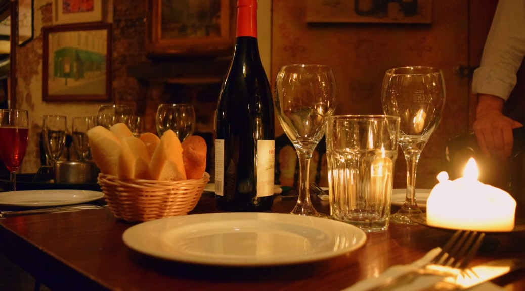French wine dinner