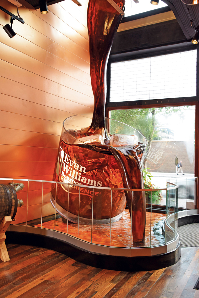 Evan Williams Microdistillery Downtown Louisville