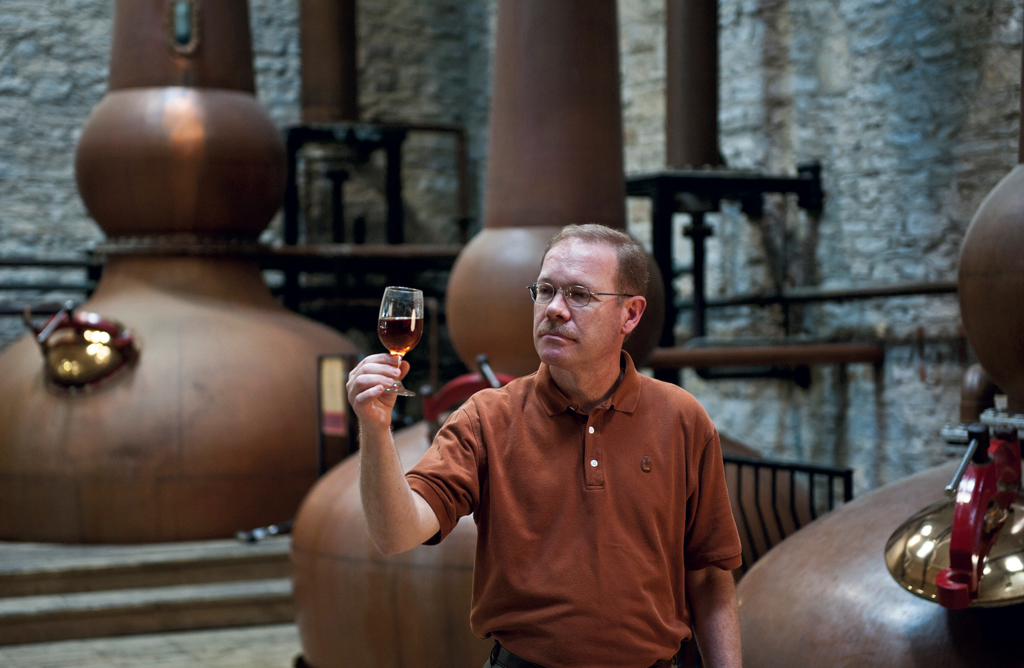Chairman of the Board for the Kentucky Distillers' Association and mater distiller for Brown-Forman Bourbon brands for 40 years, Chris Morris