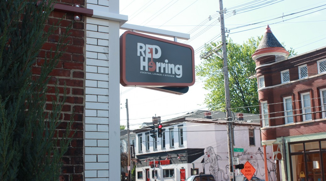 Red Herring exterior sign landscape (1)