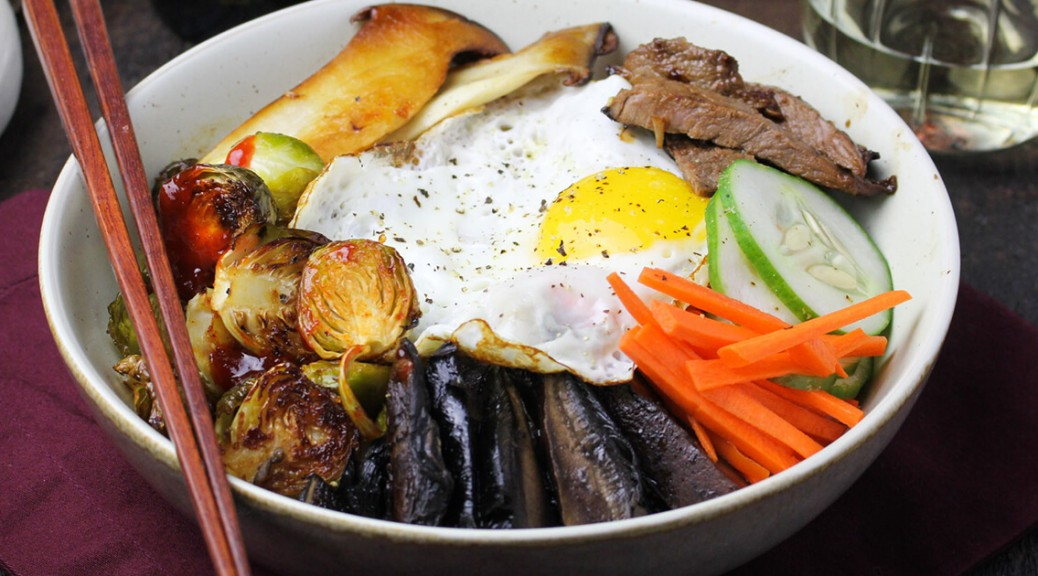 Korean, bibimbap