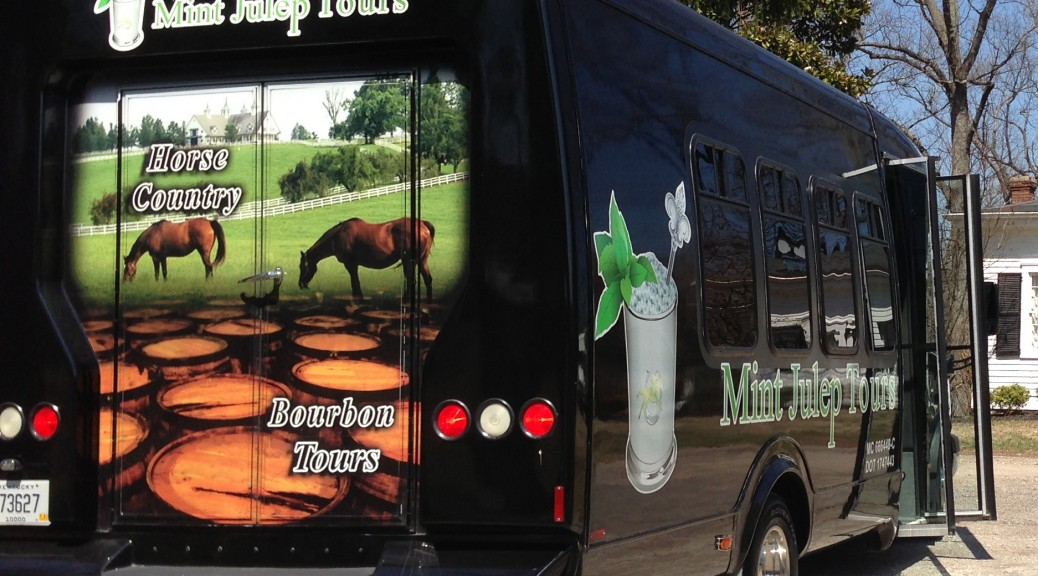 Mint Julep Tours van