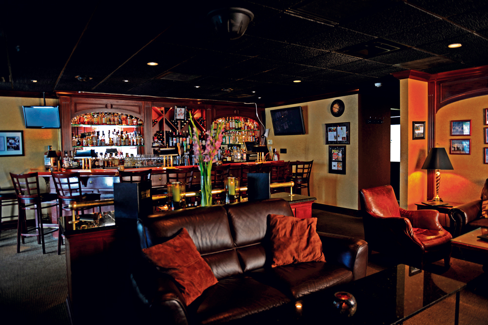 The swanky Jack's Lounge opened on June 1, 2000.