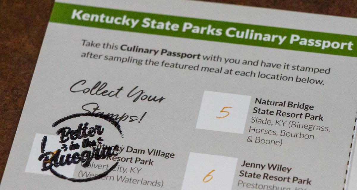 Culinary Trail Passport